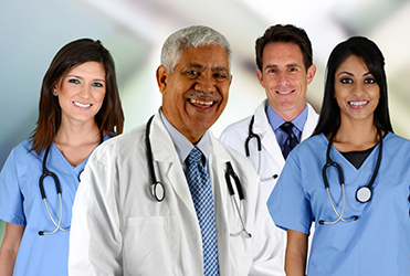 group of health care professionals